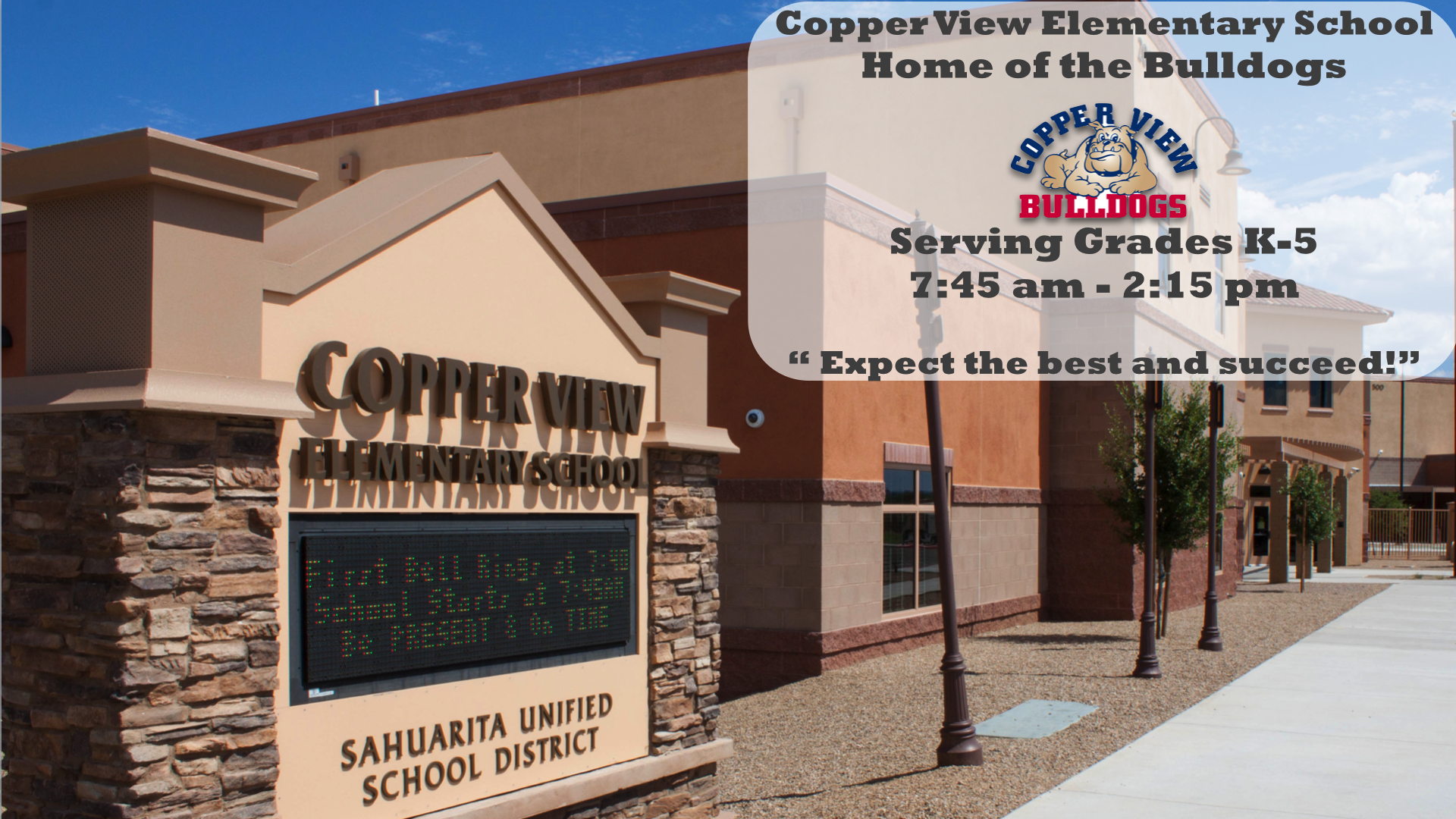 Copper View Elementary School