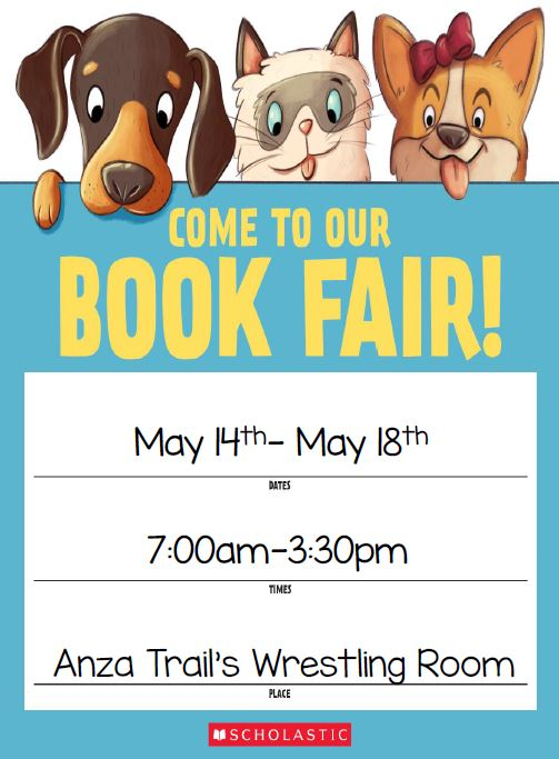 Book Fair May 14- May 18